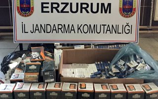 Erzurum'da akıllara durgunluk veren kaçakçılık