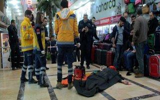 Erzurum'da iş merkezinde feci ölüm!