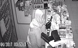 Erzurum'da marketten hırsızlık