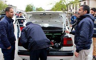 Erzurum'da 400 polisle uygulama