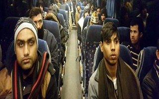 Erzurum'da kaçak göçmen operasyonu