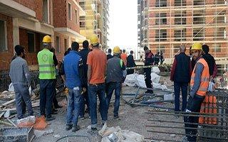 13. kattan beton zemine düştü