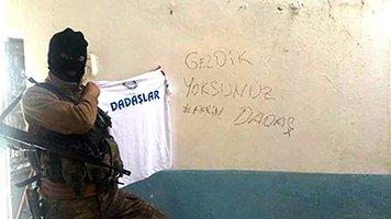 Afrin'deki Dadaş'tan selam var