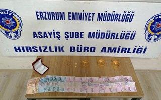 Erzurum'da kuyumcuya sahte altın sattılar