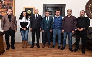 EGC Yönetimi'nden Başkan Korkut'a ziyaret