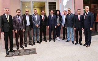 Prof.Dr.Recep Akdağ'dan EGC'ye ziyaret