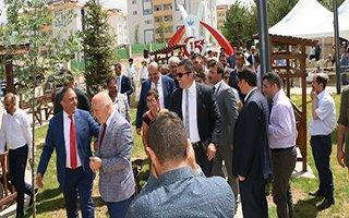 15 Temmuz Şehitler Anıtı ve Adalet Parkı açıldı