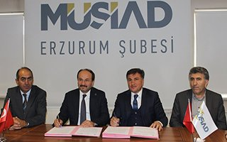 MÜSİAD ile ETÜ arasında iş birliği protokolü