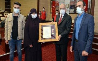 Devlet Övünç Madalyası Tevcih Töreni düzenlendi