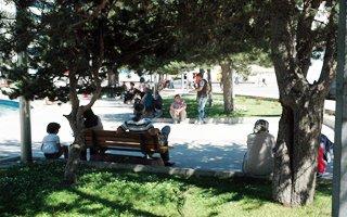 Erzurum'da sıcak havalar bunaltıyor