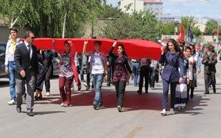Erzurum'da 94. yıl coşkusu!