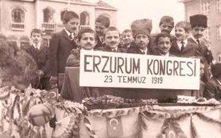 Erzurum Kongresinin yıldönümü