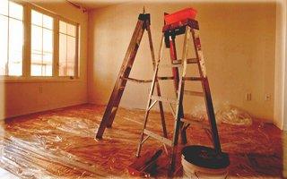 Evde boya yapılırken hayatını kaybetti