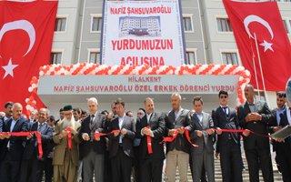 Nihat Şahsuvaroğlu Öğrenci Yurdu Açıldı