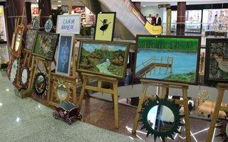 Çocuk Destek Merkezinden El Sanatları Sergisi