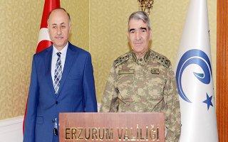 Orgeneral Savaş'tan Vali Azizoğlu'na Ziyaret