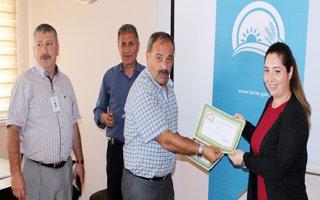 Erzurum'da 'gıda kontrol görevlisi' kursu