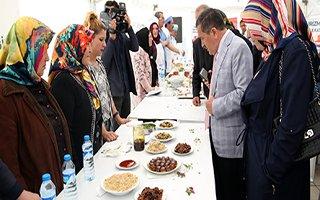 Yöresel Yemek Yarışması'nda hünerli eller yarıştı