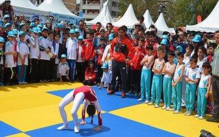 Erzurum'da yaz spor okulları kayıtları başladı