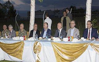 Üniversiteden Erzurum Protokolüne iftar yemeği