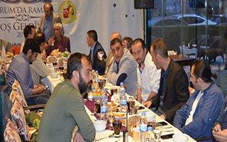 Gazeteciler DAGC'nin iftarında buluştu