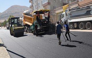 Palandöken'de asfalt sezonu bitmiyor