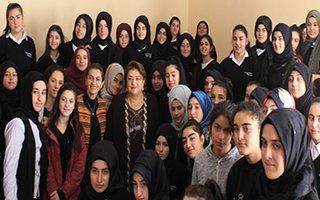 'Tarihe yazılmış Erzurumlu Kadınlar'ı Anlattı