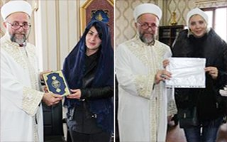 Erzurum'a geldiler, Müslüman oldular...