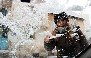 Erzurum için en şiddetli kar henüz yağmadı