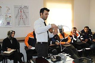 AFAD Erzurum personeline dedektör eğitimi