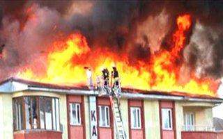 Erzurum'da 1 yılda 274 ev yanmış