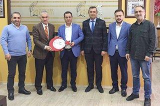 Yavuz Karasu ve Kamil Eti'den EGC'ye ziyaret