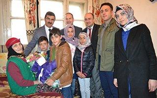 ASP İl Müdürlüğü'nden yaşlılara anlamlı ziyaret