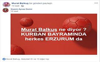 ''Kurbanım Erzurum'da Kurban Olsun'' kampanyası