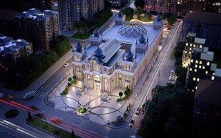 Nikâh Sarayı Palandöken'de Yükseliyor