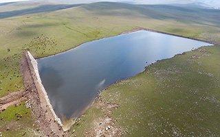 Büyükşehir gölet yapımında Türkiye rekoru kırdı