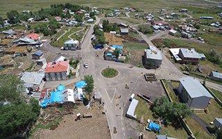 Yakutiye, 31'nci köyü asfaltlıyor...