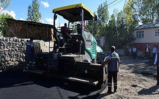 Yakutiye'de asfalt için son iki köy kaldı