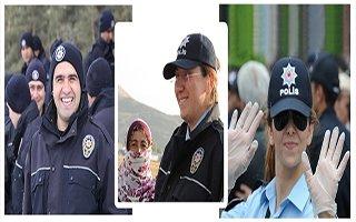Erzurum Polisi'nin ''Gülen Yüzü'' Sergilendi