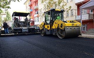 Yakutiye asfalt takvimini tamamlıyor