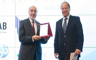 Büyükşehir'e çevre ve altyapı yatırım ödülü