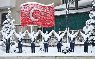 Erzurum'da Kar Esareti