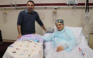 Erzurum'da yeni yılın ilk bebeğine anlamlı isim