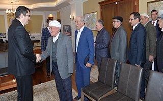Kanaat önderlerinden Vali Memiş'e ziyaret