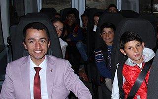 AFAD Erzurum öğrencilerin gönüllerini fethetti