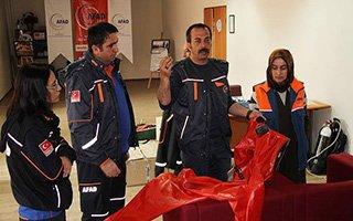 Erzurum'da 101 Bin 420 Kişi Depreme Hazır