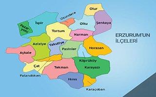 Erzurum köy sayısında Türkiye 4'üncüsü