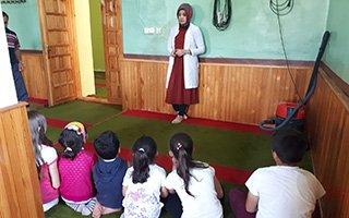 Kuran kurslarında 'sağlıklı nesiller etkinliği'