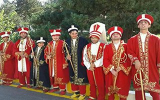 Erzurum'da Engelliler Mehter Takımı Kuruldu