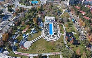 100. Yıl Millet Bahçesi Erzurum'da Törenle Açıldı